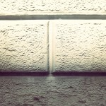 Muro. Con ombra.
